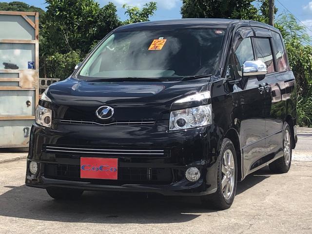 沖縄の中古車 トヨタ ヴォクシー 車両価格 59万円 リ済込 2010(平成22)年 9.3万km ブラック