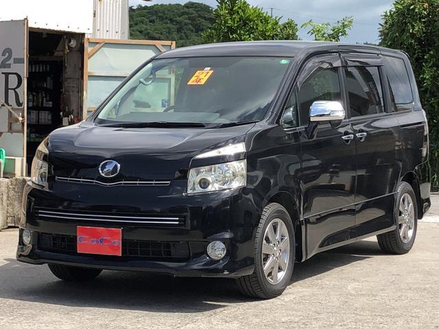 沖縄の中古車 トヨタ ヴォクシー 車両価格 45万円 リ済込 2009(平成21)年 11.4万km ブラック
