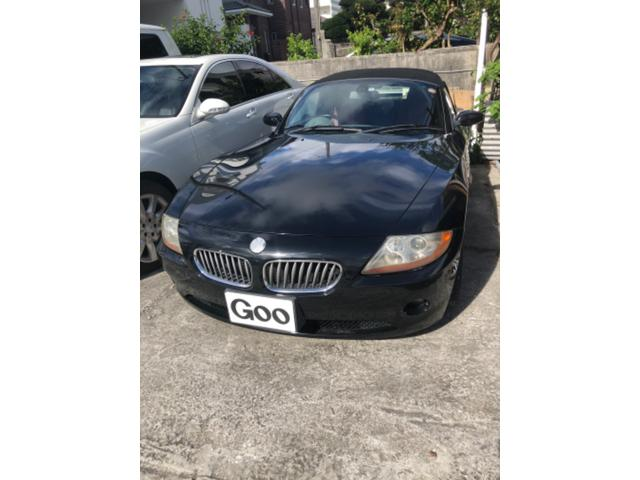 沖縄の中古車 BMW Z4 車両価格 39万円 リ済込 2004(平成16)年 13.3万km ブラック