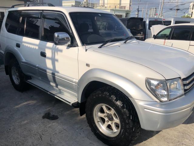 沖縄県の中古車ならランドクルーザープラド TX