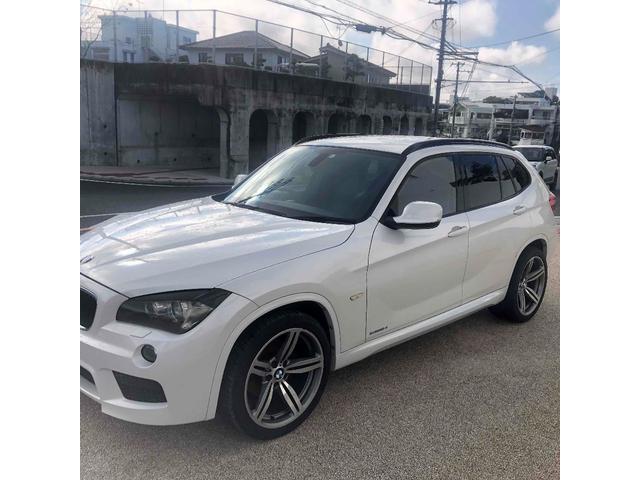 沖縄の中古車 BMW X1 車両価格 79万円 リ済込 2011(平成23)年 8.5万km ホワイト