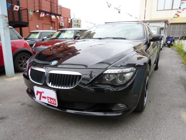 沖縄の中古車 BMW 6シリーズ 車両価格 179万円 リ済込 2009(平成21)年 13.1万km ブラック