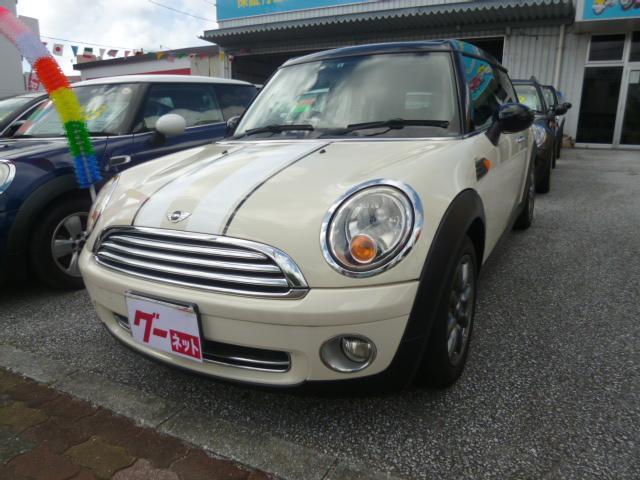 沖縄の中古車 MINI MINI 車両価格 89万円 リ済込 2009(平成21)年 7.5万km ホワイト