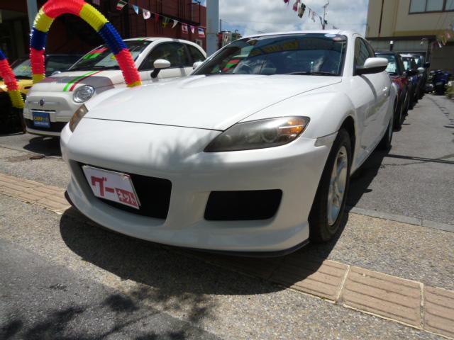 沖縄の中古車 マツダ RX-8 車両価格 69万円 リ済込 平成19年 10.4万km ホワイト