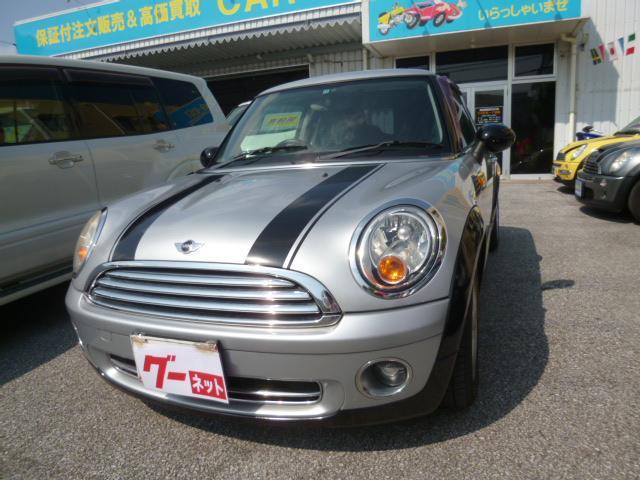 沖縄の中古車 MINI MINI 車両価格 59万円 リ済込 2007(平成19)年 7.5万km シルバー