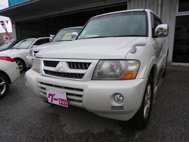 沖縄県の中古車ならパジェロ アクティブフィールドエディション 純正HDDナビバックカメラ