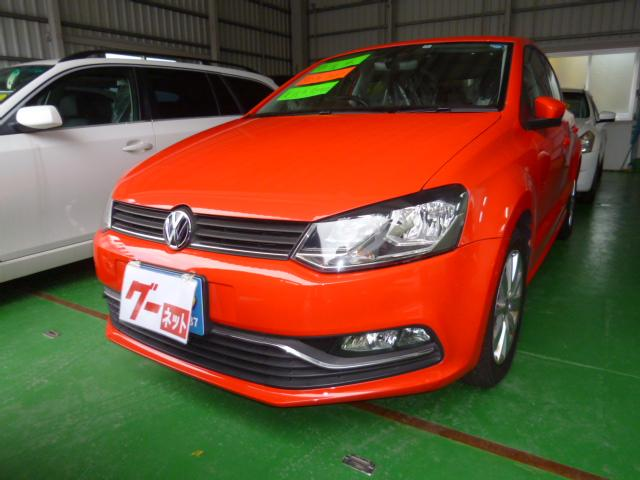 沖縄の中古車 フォルクスワーゲン VW ポロ 車両価格 89万円 リ済込 2014(平成26)年 3.3万km レッド