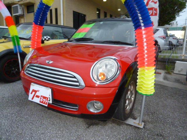 沖縄の中古車 MINI MINI 車両価格 78万円 リ済込 2008年 8.1万km レッド