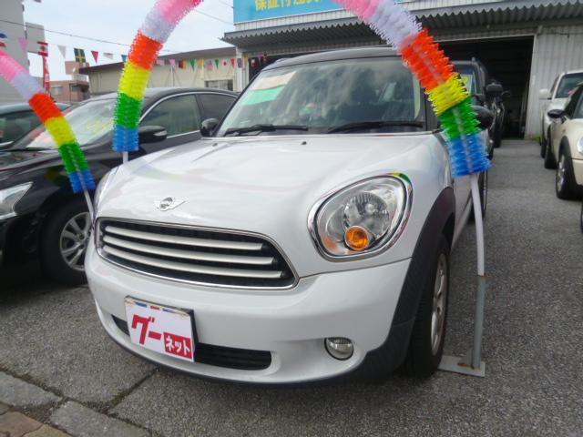 沖縄県宜野湾市の中古車ならMINI クーパー クロスオーバー 1オーナー 社外ナビ 純正アルミ