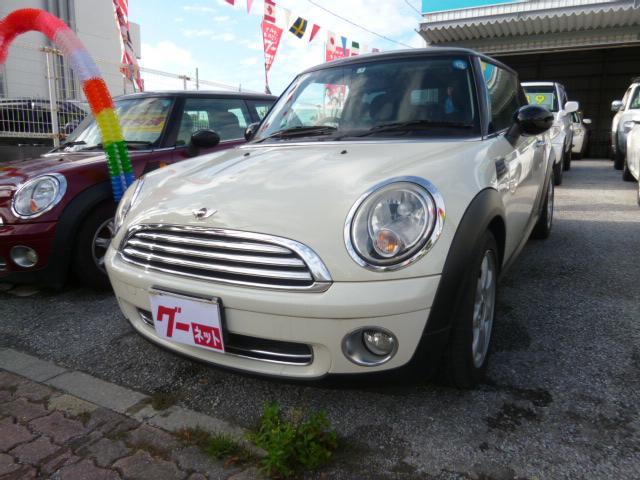 沖縄の中古車 MINI MINI 車両価格 57万円 リ済込 2009(平成21)年 9.2万km ホワイト