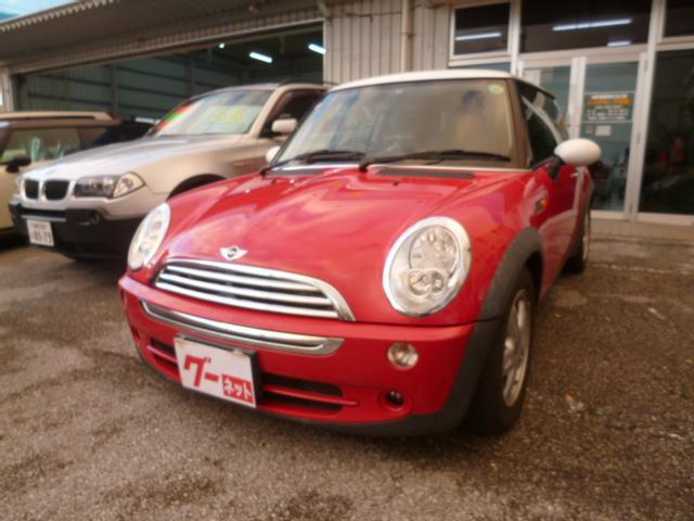 沖縄の中古車 MINI MINI 車両価格 49万円 リ済込 2004(平成16)年 8.0万km レッド