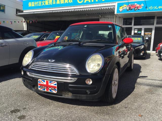 沖縄の中古車 MINI MINI 車両価格 48万円 リ済込 2004(平成16)年 7.5万km ブラック