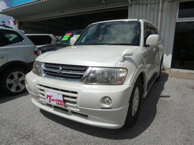 沖縄県の中古車ならパジェロ アクティブフィールドエディション レザーシート バックモニタ