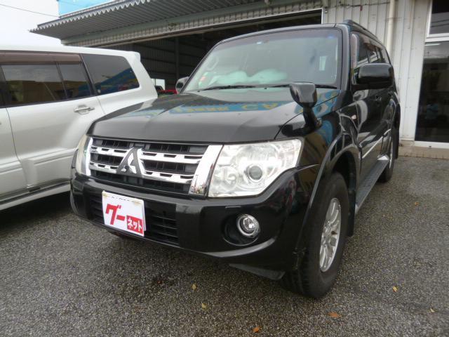 沖縄県の中古車ならパジェロ ロング GR HDDナビ フルセグTV バックモニター