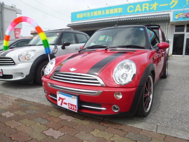 沖縄の中古車 MINI MINI 車両価格 79万円 リ済込 2007(平成19)年 9.7万km レッド