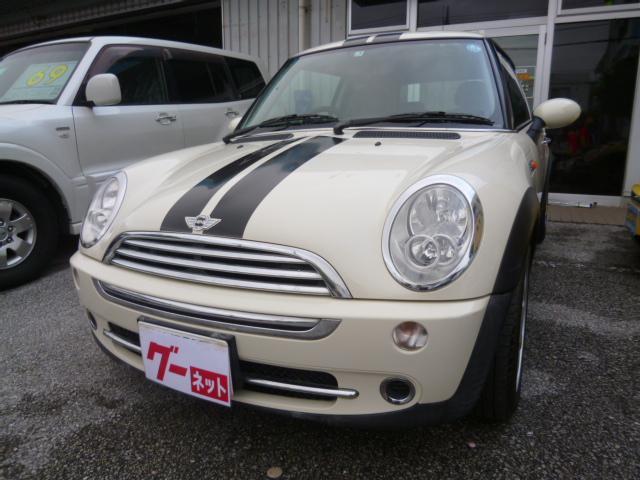 沖縄の中古車 MINI MINI 車両価格 49万円 リ済込 2005(平成17)年 8.6万km ホワイト