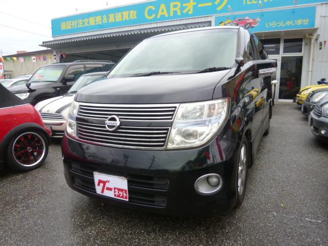 沖縄の中古車 日産 エルグランド 車両価格 59万円 リ済込 2009(平成21)年 13.9万km ブラックM