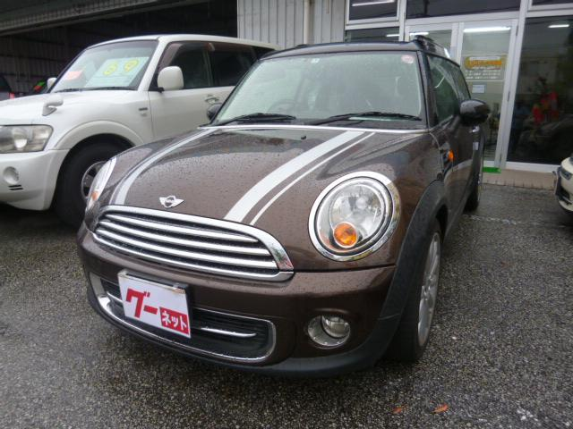 沖縄の中古車 MINI MINI 車両価格 79万円 リ済込 2011(平成23)年 10.2万km ブラウン