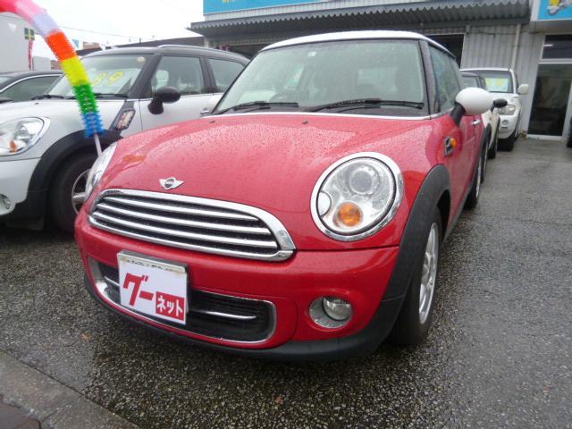 沖縄の中古車 MINI MINI 車両価格 85万円 リ済込 2013(平成25)年 10.2万km レッド