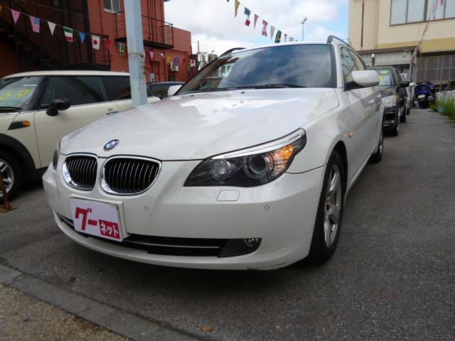 沖縄の中古車 BMW 5シリーズ 車両価格 68万円 リ済込 2009(平成21)年 8.5万km ホワイト