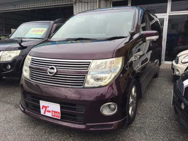 沖縄の中古車 日産 エルグランド 車両価格 59万円 リ済込 2009(平成21)年 15.3万km パープル