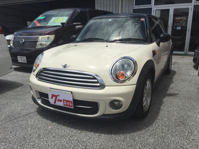 沖縄の中古車 MINI MINI 車両価格 85万円 リ済込 2012(平成24)年 9.0万km ホワイトM