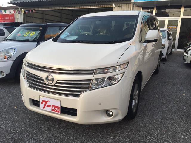 沖縄の中古車 日産 エルグランド 車両価格 79万円 リ済込 2011(平成23)年 14.8万km パール