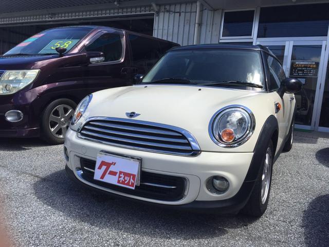 沖縄の中古車 MINI MINI 車両価格 84万円 リ済込 2011(平成23)年 10.8万km ホワイト