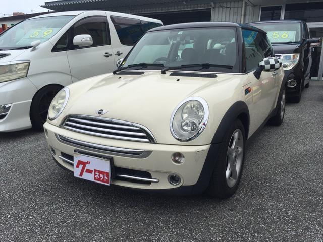沖縄の中古車 MINI MINI 車両価格 58万円 リ済込 2006(平成18)年 9.8万km ホワイト