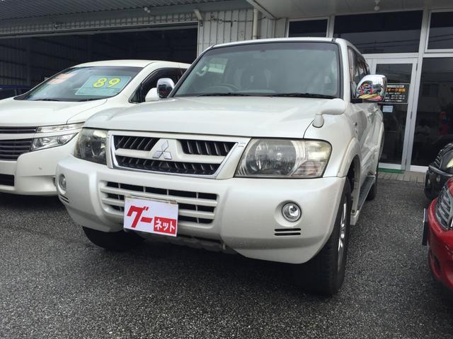 沖縄の中古車 三菱 パジェロ 車両価格 79万円 リ済込 2005(平成17)年 9.2万km パール