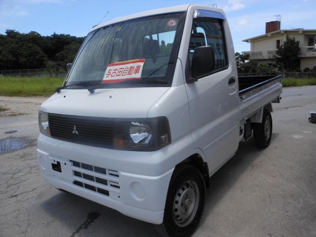 沖縄の中古車 三菱 ミニキャブトラック 車両価格 34万円 リ済別 2005(平成17)年 11.1万km ホワイト
