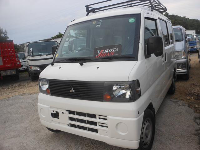 沖縄の中古車 三菱 ミニキャブバン 車両価格 34万円 リ済別 平成19年 10.7万km ホワイト