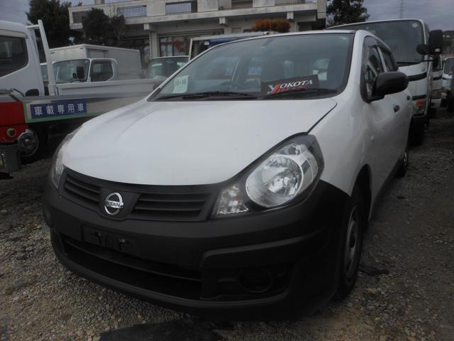 沖縄の中古車 日産 AD 車両価格 35万円 リ済別 2008(平成20)年 6.1万km ホワイト
