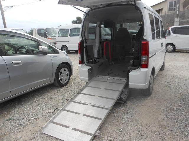 スズキ スロープ式福祉車両