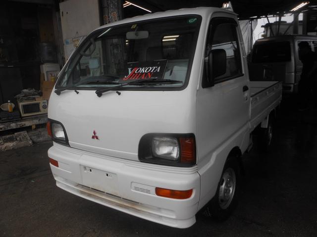 沖縄の中古車 三菱 ミニキャブトラック 車両価格 29万円 リ済別 平成8年 3.6万km ホワイト