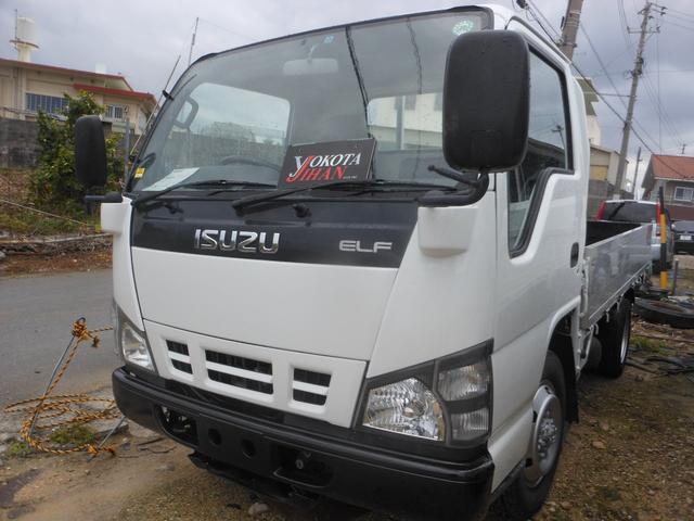 沖縄県中頭郡西原町の中古車ならエルフトラック 4WD車1.25トン積載