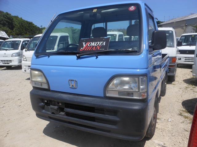 沖縄の中古車 ホンダ アクティトラック 車両価格 28万円 リ済別 平成9年 8.9万km ブルー