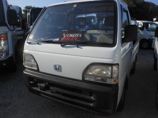 沖縄の中古車 ホンダ アクティトラック 車両価格 24万円 リ済別 平成8年 11.3万km ホワイト