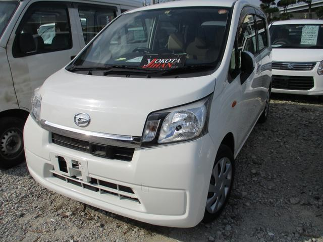 沖縄の中古車 ダイハツ ムーヴ 車両価格 34万円 リ済別 2013(平成25)年 8.2万km ホワイト