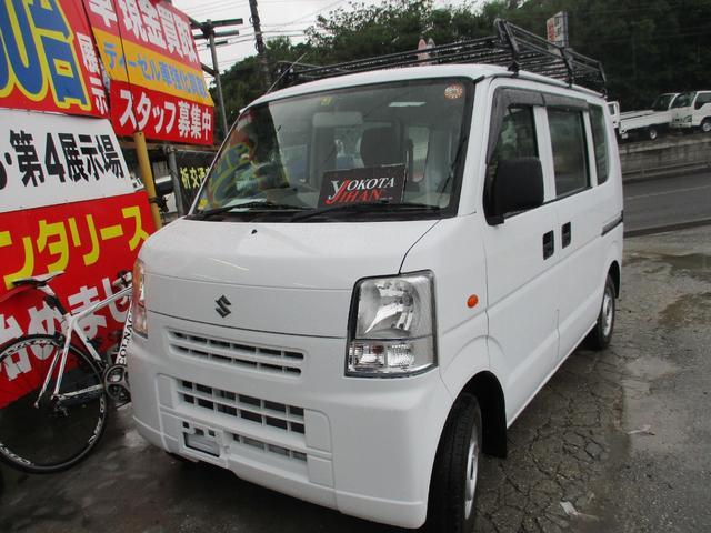 沖縄の中古車 スズキ エブリイ 車両価格 34万円 リ済別 平成24年 13.1万km ホワイト