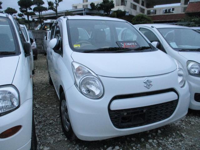 沖縄の中古車 スズキ アルト 車両価格 34万円 リ済別 平成25年 5.0万km ホワイト