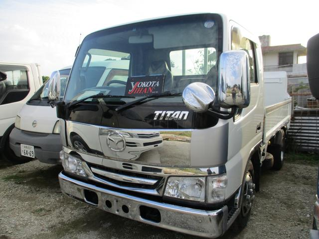沖縄県の中古車ならタイタントラック 3トン積載アーム式パワーゲート付き
