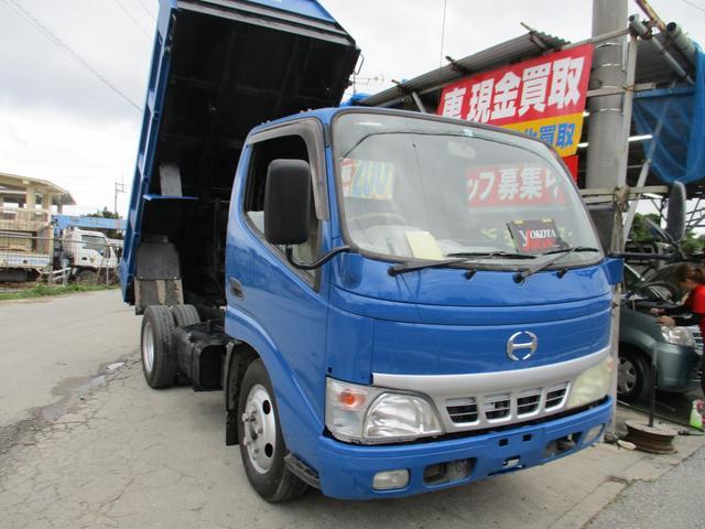 沖縄県の中古車ならデュトロ 3トン低床ダンプ