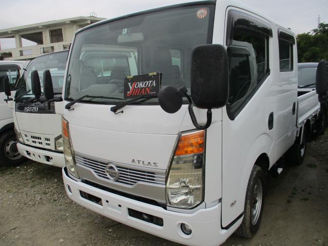 沖縄県の中古車ならアトラストラック WキャブフルスーパーローDX