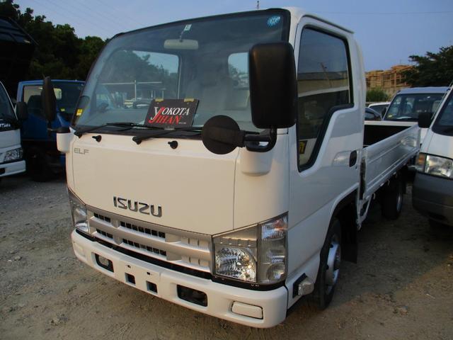 沖縄県の中古車ならエルフトラック フラットロー