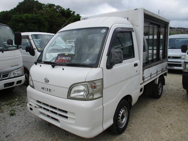 沖縄の中古車 ダイハツ ハイゼットトラック 車両価格 29万円 リ済別 2005(平成17)年 18.1万km ホワイト