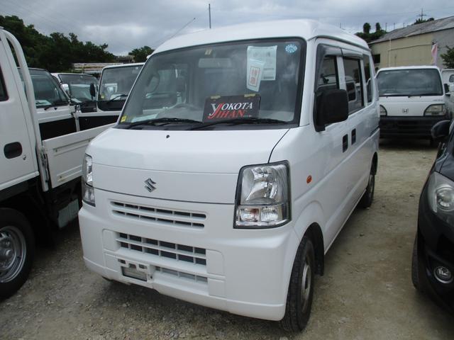 沖縄の中古車 スズキ エブリイ 車両価格 34万円 リ済別 2007(平成19)年 9.0万km ホワイト