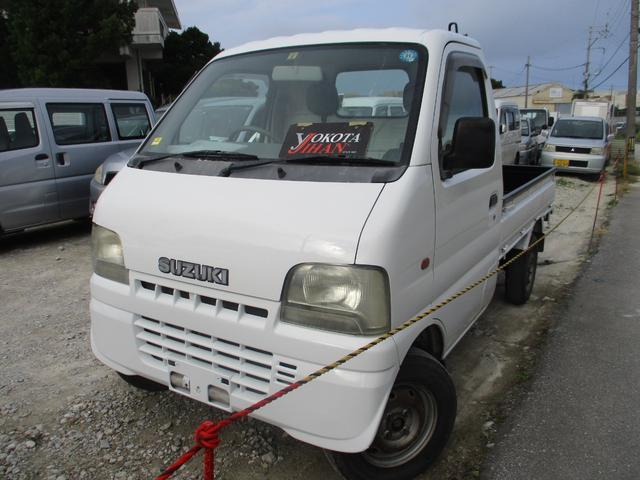 沖縄県の中古車ならキャリイトラック 4WD車エアコン