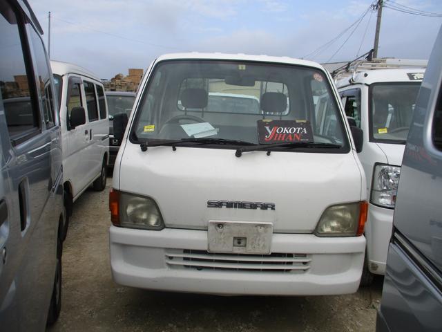 沖縄の中古車 スバル サンバートラック 車両価格 27万円 リ済別 2001(平成13)年 11.8万km ホワイト