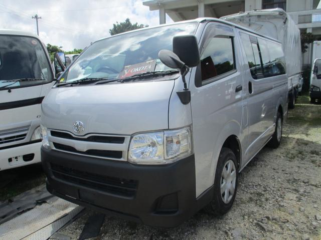 沖縄県の中古車ならハイエースバン ロングジャストローDX